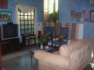Mal Pais villa photo - Television Room/Library
