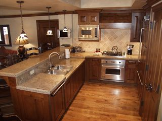 Aspen condo photo - Kitchen with Viking & Sub-Zero Appliances