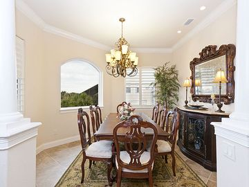 Step into our formal dining room
