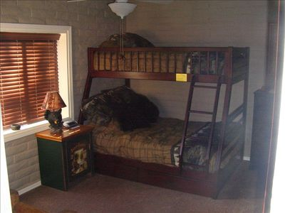 Bear Cave Room. Twin over Full. Memory Foam Mattresses.
