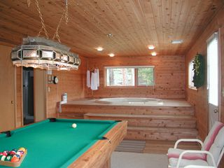 Big Sky condo photo - Pool Table Hot Tub