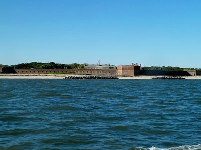 Fort Clinch is one of many places to visit. Downtown Fernadina is also charming.