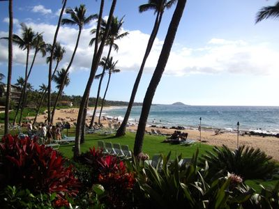Keawakapu Beach (voted Maui's most romantic) is 100 steps from your front door