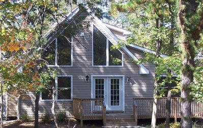 Albrightsville chalet rental - Private, Wooded, Shady and Cool!