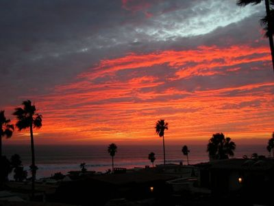 Las Gaviotas house rental - Typical Sunset View from Las Gaviotas Home