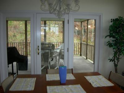 Dennis Village house rental - Screened Porch