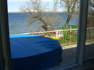 Dresden cottage photo - Lakefront serenity and privacy