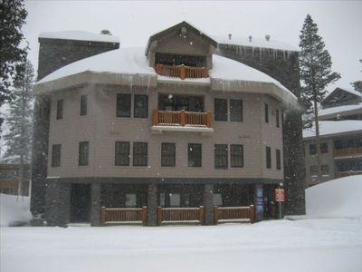 Kirkwood condo rental - Front of Building