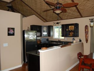 Keaau house photo - Pineapple Suite kitchen