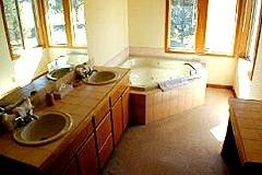 Masterbath with Large Jacuzzi Tub