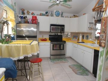 #1 Beach house- Fully stocked kitchen with all appliances