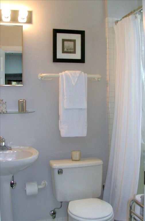 En Suite Guest Bath also borders Den