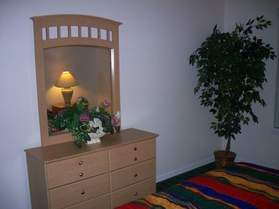 Dresser in Queen Bedroom