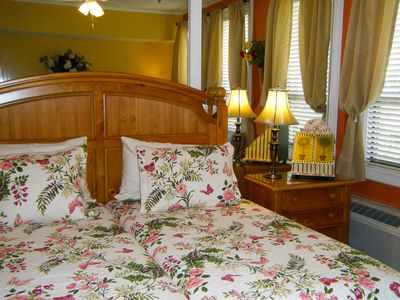 Twin beds can be made up as single king size if desired.