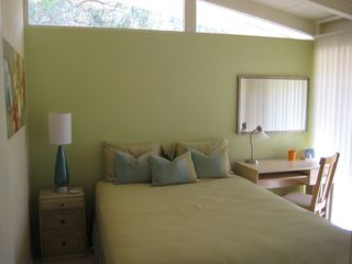 Rancho Mirage house photo - The second bedroom featuring a queen bed.