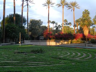 Indian Wells estate photo - 11 circuit labyrinth laid out upon request
