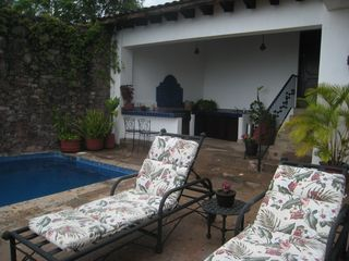 Relax out on the patio and enjoy the views. - Puerto Vallarta house vacation rental photo
