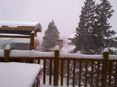 Snow, Snow, Snow! Love that Park City powder!