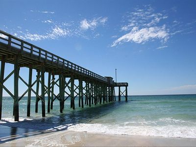Great fishing pier in PCB!