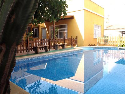 Villa with private pool 150 meters from the beach