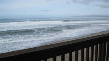 La Selva Beach townhome rental - View from the deck