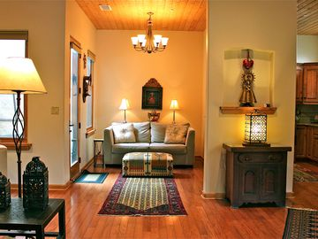 Santa Fe townhome rental - Beautiful Santa Fe style with attention to comfort. Room to stretch.