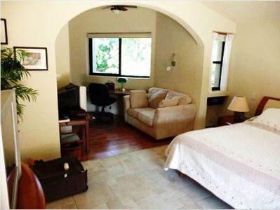 Playa del Carmen villa rental - Master bedroom & studio.