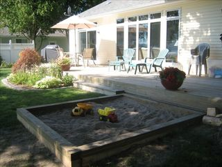 Lake Leelanau house photo - Wonderful sandbox