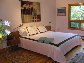 Wiscasset house photo - Master bedroom (California king)