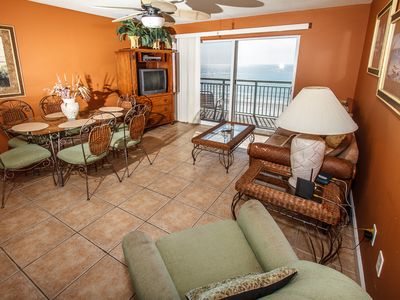 Relax in the lap of luxury as you enjoy the beautiful pristine b - Relax in the lap of luxury as you enjoy the beautiful pristine beach which is just outside your balcony door. Fully furnished in Tommy Bahama this two bedroom two bathroom condominium is the perfect place to vacation.