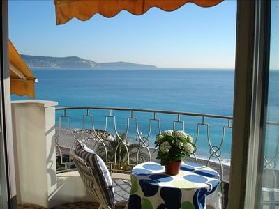 Promenade des Anglais apartment rental - The view of the Mediterranean Sea greets you