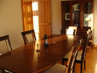 West Wardsboro house photo - Den with table for expanded dinner guests and games.