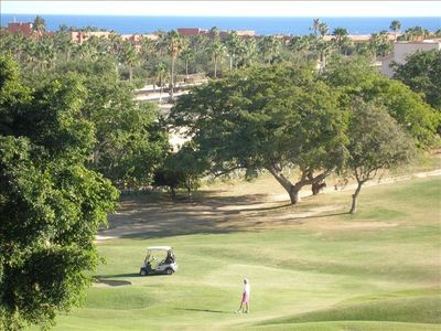 Expansive views of the ocean, estuary and golf course.