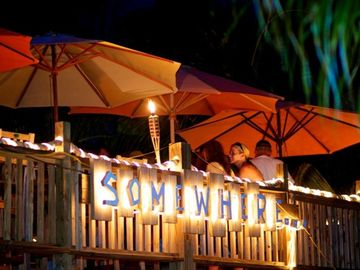 somewhere Cafe located at resort