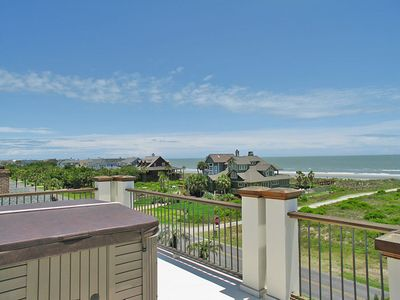 Isle of Palms house rental - Roof top hot tub!