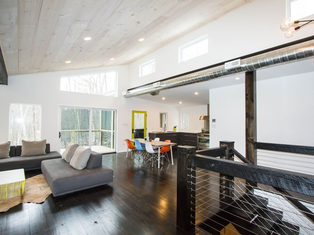 New Modern Home in Catskills Near River Ski VRBO