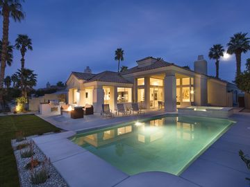 La Quinta house rental - Newly remodeled pool/spa (pebble and saline) and new gas fire pit and barbecue
