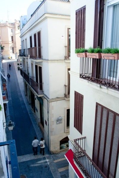 Sitges Town apartment rental - Balcon