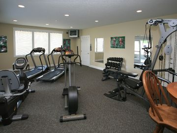 Increase Your Energy Level In The Fully Equipped Exercise Room