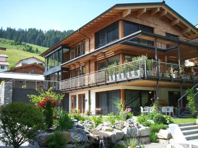 Flats in newly built house in Lech  - Flat Omeshorn 32 square metres, 2-4 people.
