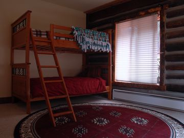 Main Floor Bedroom w/ 2 Pair Bunk beds