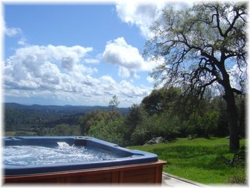Mariposa house rental - ~ The Scenery from the Spa is Simply Spectacular...