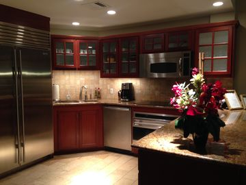 Waipouli condo rental - Gourmet kitchen with Wolf appliances, quiet dishwasher