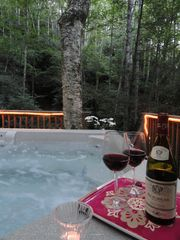Banner Elk cabin photo - Our Hot Tub