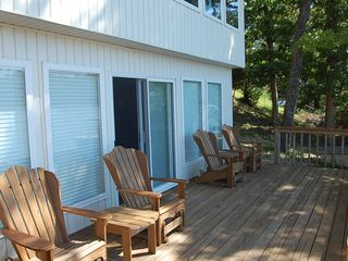 Sunrise Beach house photo - Lower deck from family room