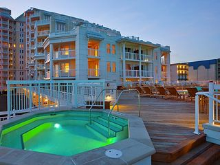 Diamond Beach condo photo - beachfront hottub