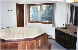 Hot Tub Area in Master Bedroom Suite