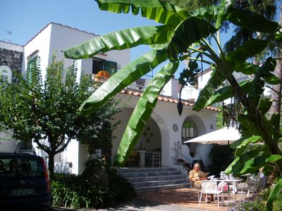 Elegant villa in the heart of Ischia with garden perfect for family holidays