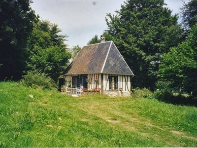 Saint Georges du Vievre cottage rental - The Cottage