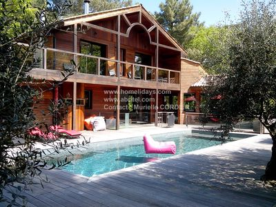 Villa luxury 5 * GOLF BISCARROSSE Fir Champagne Final cleaning offered for NOEL!